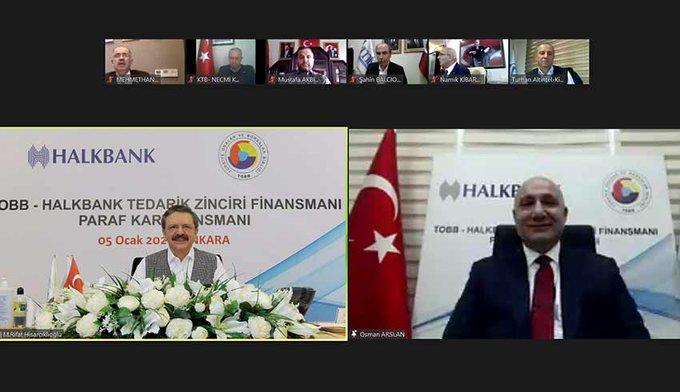Tobb ve Halkbank, Kobi'leri rahatlatacak finansman anlaşması masalı