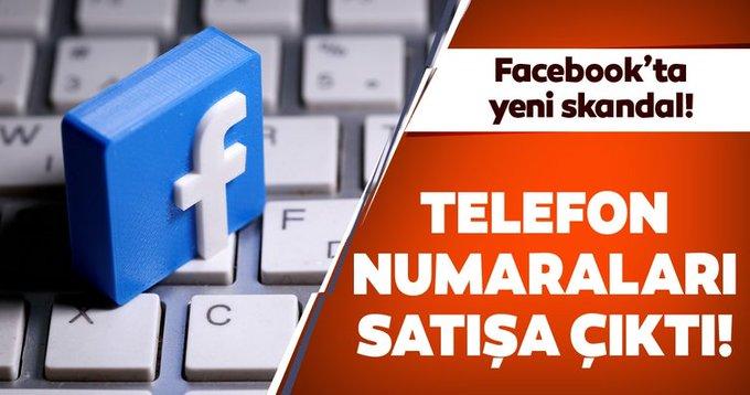 Facebook'ta yeni skandal! Milyonlarca Facebook kullanıcısının telefon numarası satılıyor!