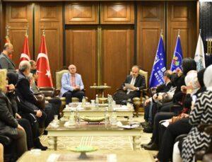 Bursa Büyükşehir'de kültürel buluşma